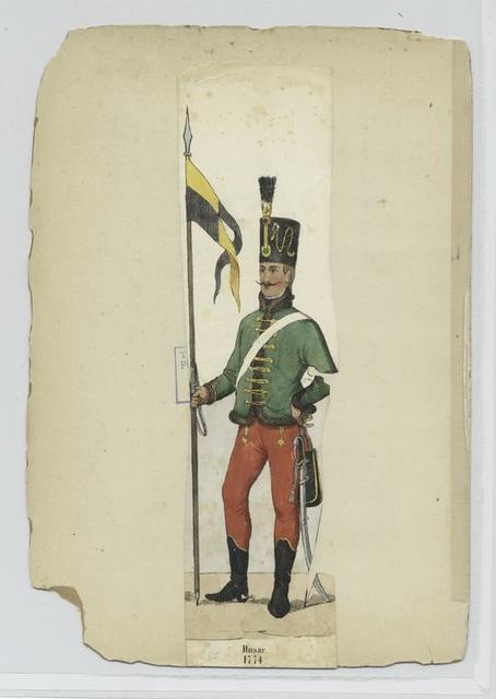 Husar, 1774