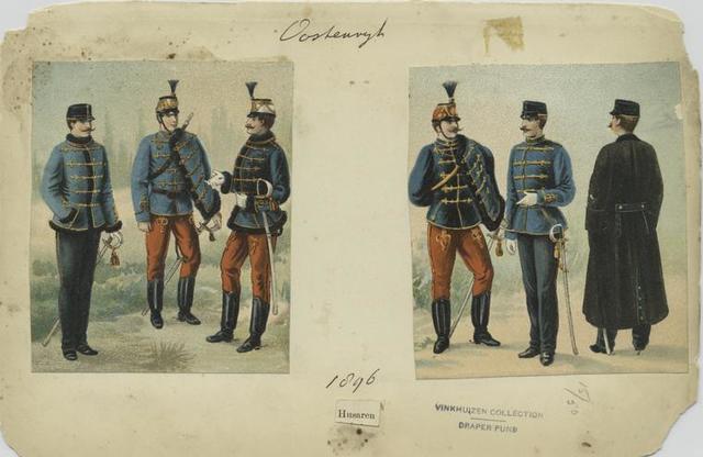 Husaren, 1896
