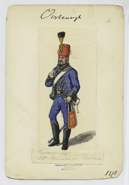 Husaren Regt. E.H. Alexander von Toscana. 1778