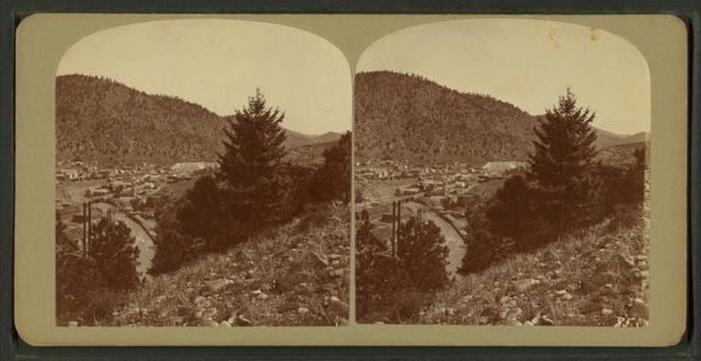 Idaho Springs town end.