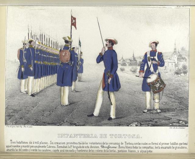 Infanteria de Tortosa.