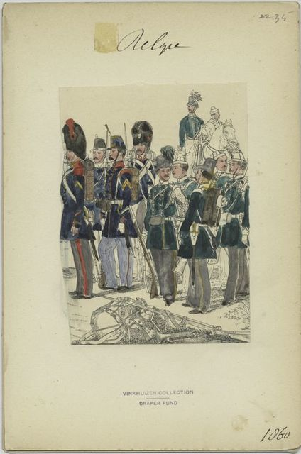 Infanterie. 1860