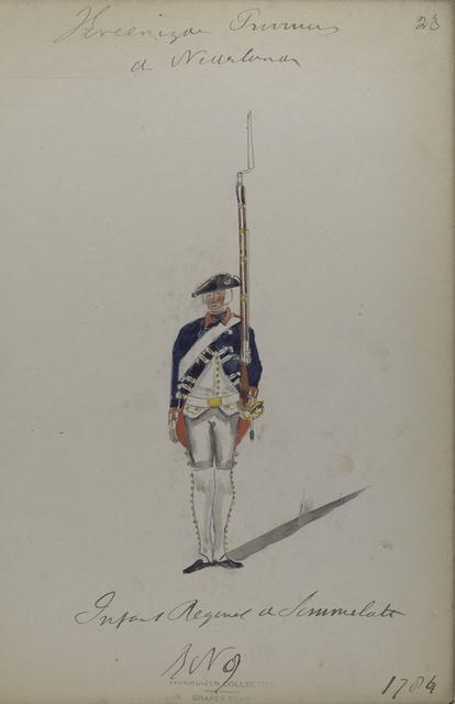 Infanterie-Regiment Sommerlatte,  R. 9. 1784