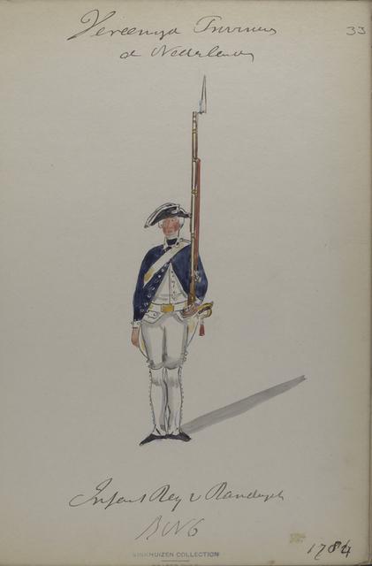 Infanterie Regiment van [...?], R. no. 6. 1784