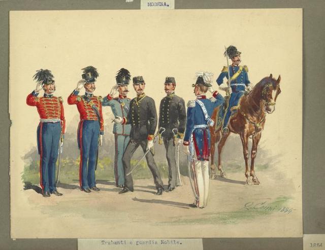 Italy. Modena, 1850-1859.