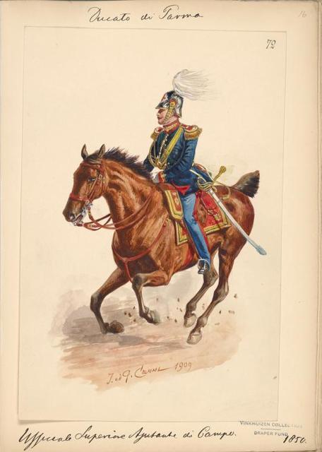 Italy. Parma, 1850-1851.
