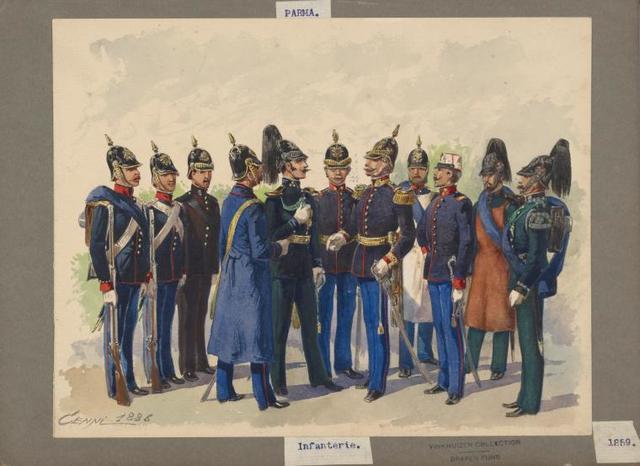 Italy. Parma, 1859-1860.