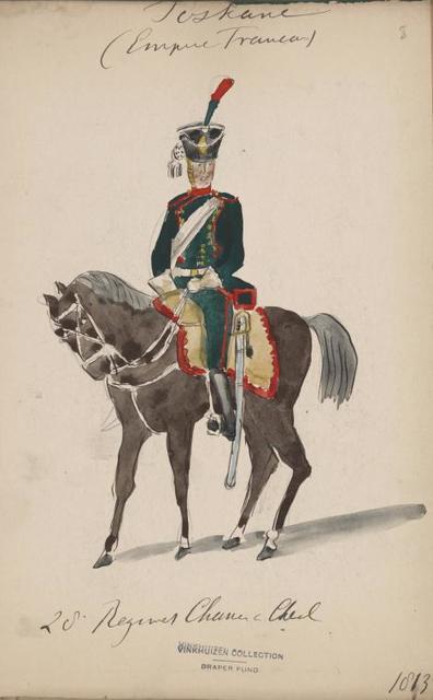 Italy. Tuscany, 1810-1846.