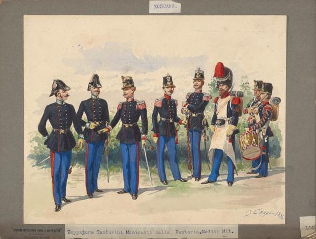 Italy. Tuscany, 1848-1852.