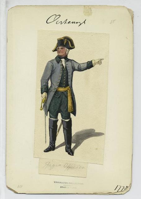 Jäger  Officier. 1778