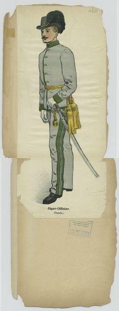 Jäger-Officier (Parade)