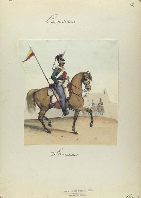 Lancero. 1847