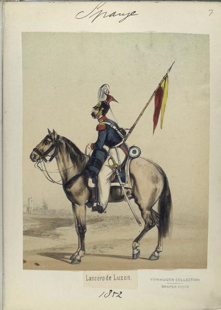 Lancero de Luzon. 1852