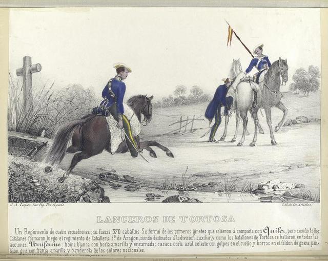 Lanceros de Tortosa.