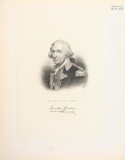 Maj. Gen. Horatio Gates.