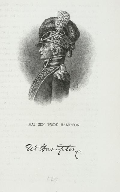 Maj. Gen. Wade Hampton.