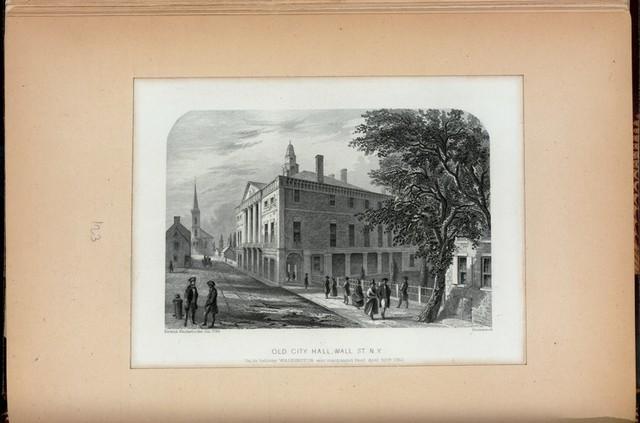 Old City Hall, Wall St., N.Y.