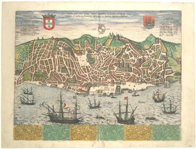 Olissippo quae nunc Lisboa, ciuitas amplissima Lusitanae....