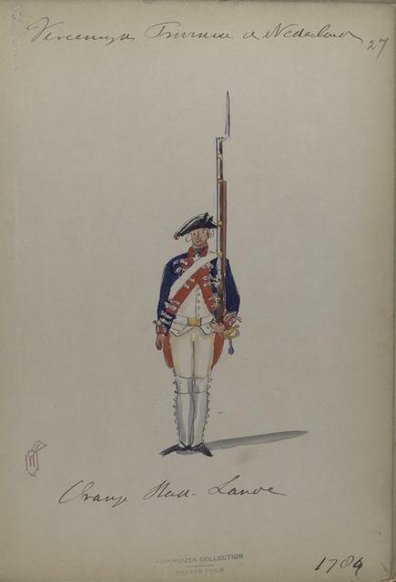 Oranje Stad -Lande. 1784