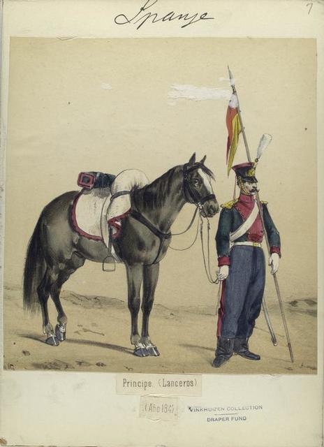 Principe. (Lanceros). 1847