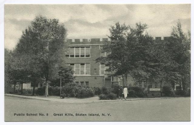 Public School No. 8, Great Kills, Staten Island, N.Y.
