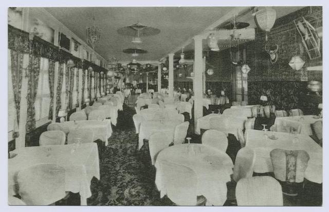 Reilly's Arrochar Inn, Arrochar, Staten Island, N.Y. (int. dining room)