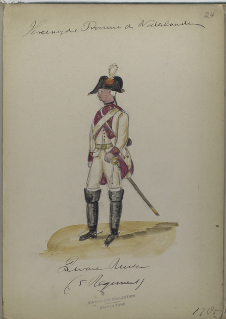Ruiter (5 Regiment). 1785