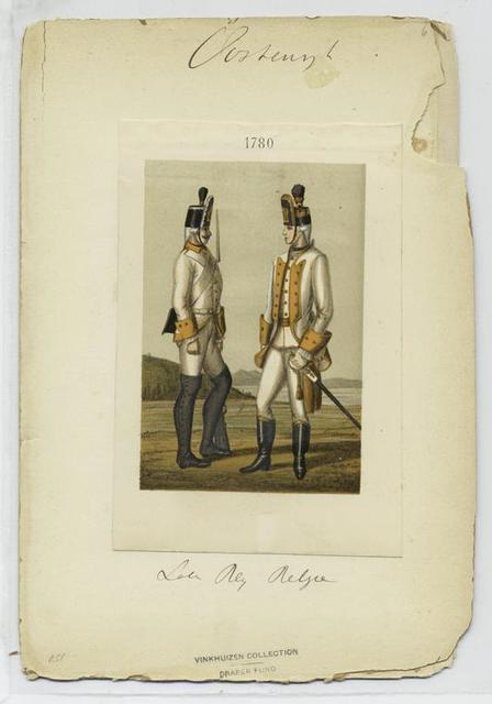 Soldaten Reg. [Baden-Durlach] 1780