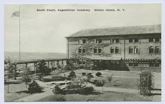 South Court, Augustinian Academy, Staten Island, N.Y.