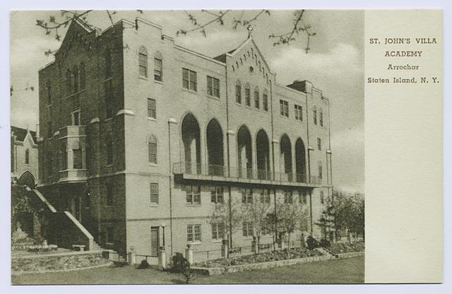 St. John's Villa Academy, Arrochar, Staten Island, N.Y.
