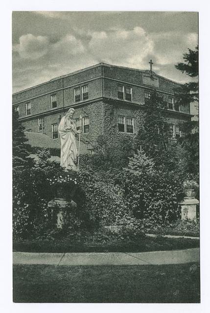 St.  Joseph Hill Academy  Side View
