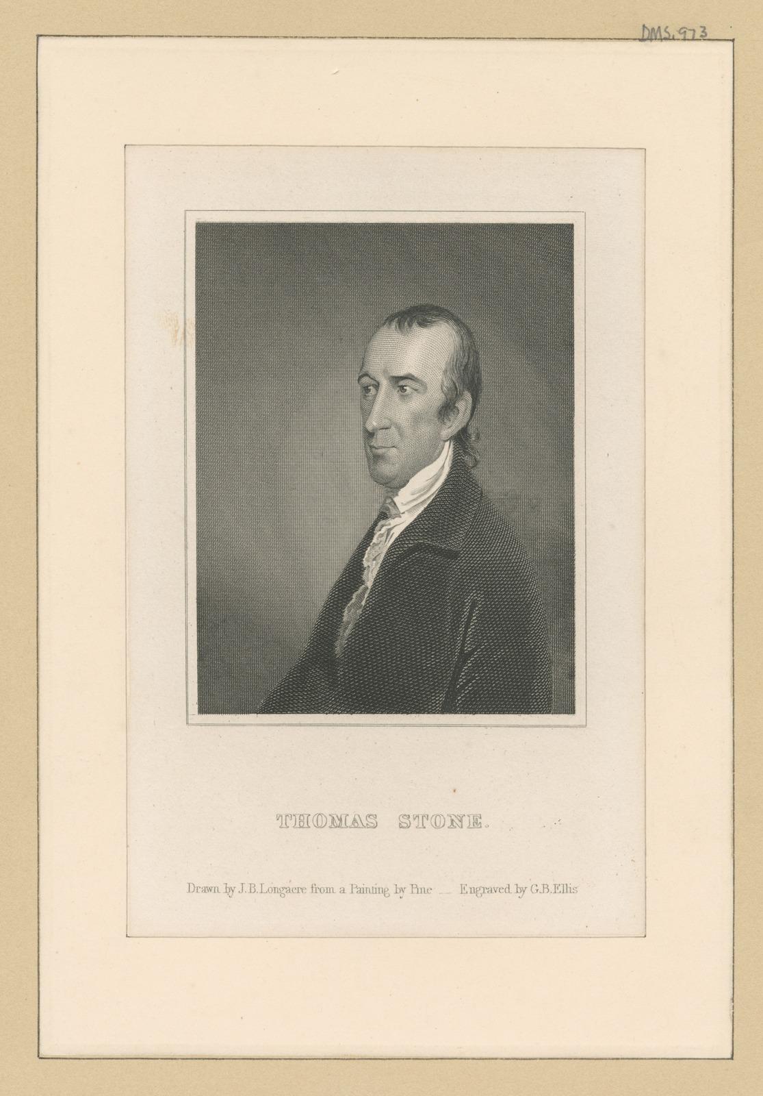 Thomas Stone.