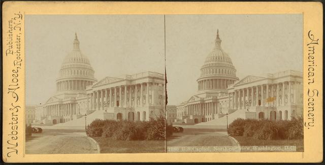 U.S. Capitol, North-east view, Washington, D.C.