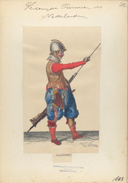 Vereenigde Provincien der Nederlanden. Arquebusier. 1618