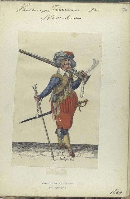 Vereenigde Provincien der Nederlanden. [Musketier ]. 1618