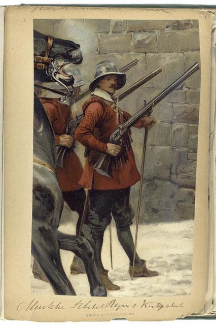 Vereenigde Provincien der Nederlanden. Musketiere