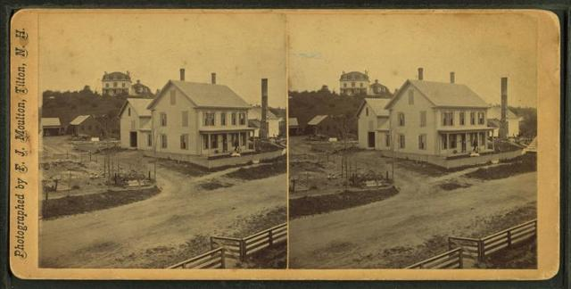 [View of a home in Tilton, N.H.]