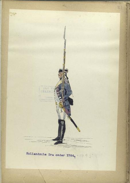 Waalsche Dragonder. 1784- 1895