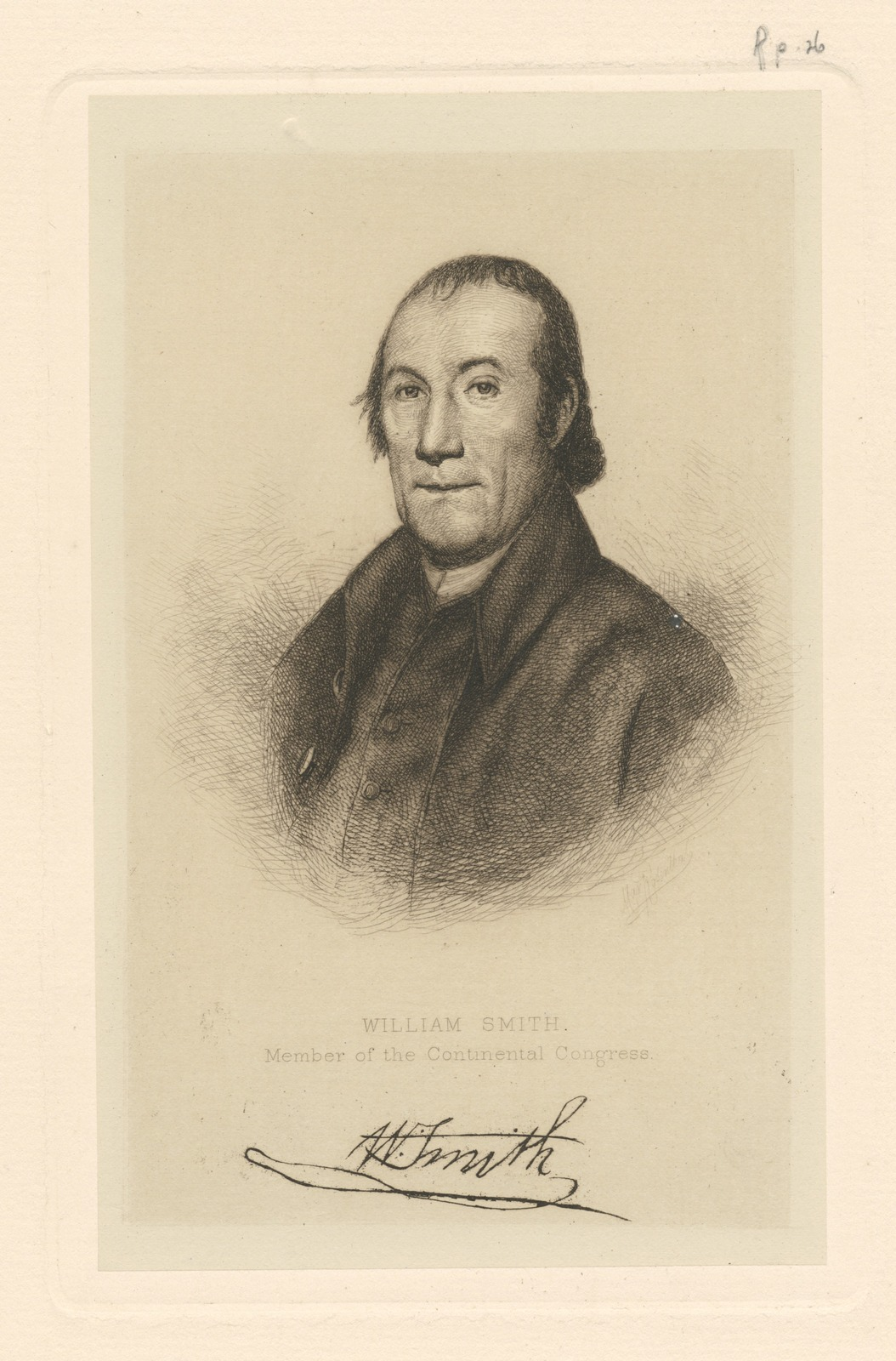 William Smith, member of the Continental Congress.