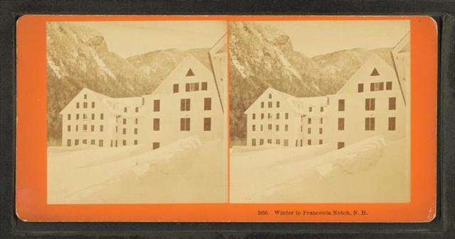 Winter in Franconia Notch, N.H.