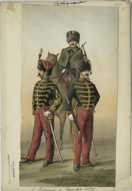 1 Régiment à guide, 1895
