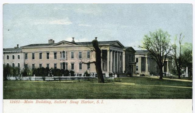 12481-Main Building, Sailors' Snug Harbor, Staten Island