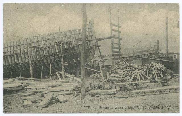 A. C. Brown & Sons Shipyard, Tottenville, N.Y.