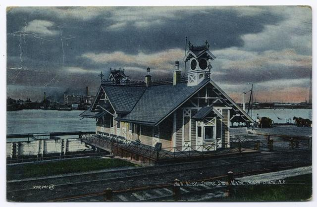 Bath House, Sailor's (sic) Snug Harbor, Staten Island, N.Y.