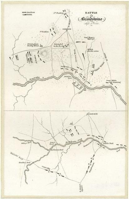 Battle of Brandywine Sept. 11th 1777