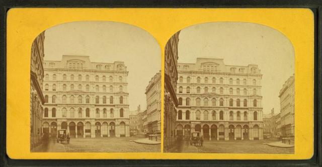 Beebe's building and Winthrop square.