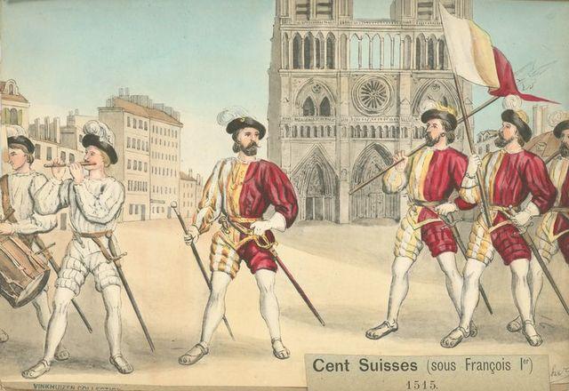 Cent Suisses (sous François 1er).
