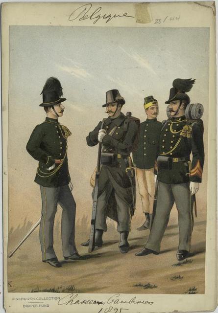 Chasseurs carabiniers, 1895