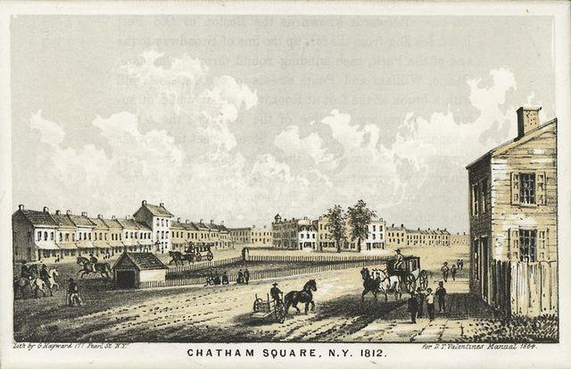 Chatham Square N.Y. 1812