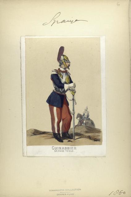 Cuirassier (grande tenue). 1860